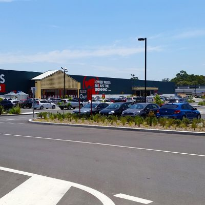 Sparks & Partners Project Bunnings Warehouse Rydalmere NSW Front