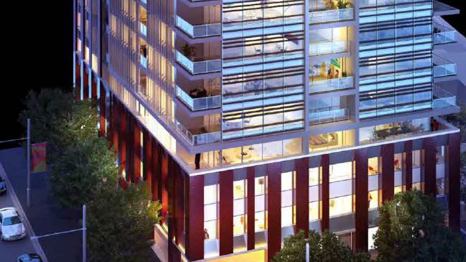 Sparks & Partners Project Ruby Tower Victora Park Zetland NSW Entry