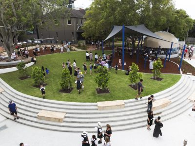 Sparks and Partners PLC Sydney Hamilton School Building