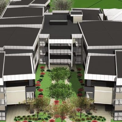 An artist's impression of the new-look Peninsula Retirement Village