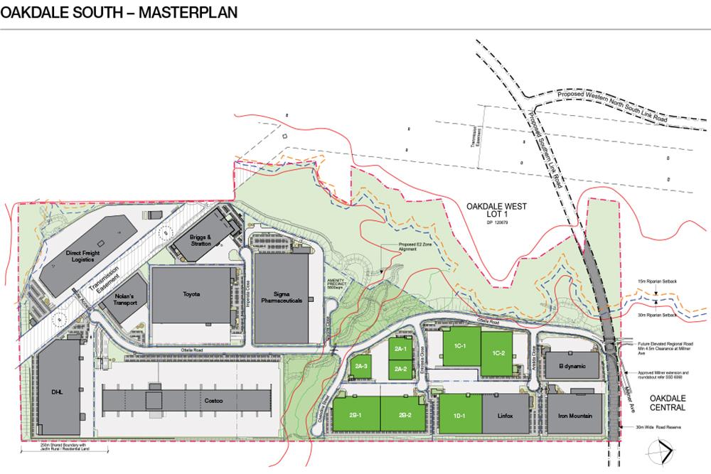 Oakdale Industrial Estate South Masterplan